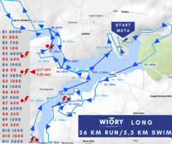 swimrun wiory mapa long