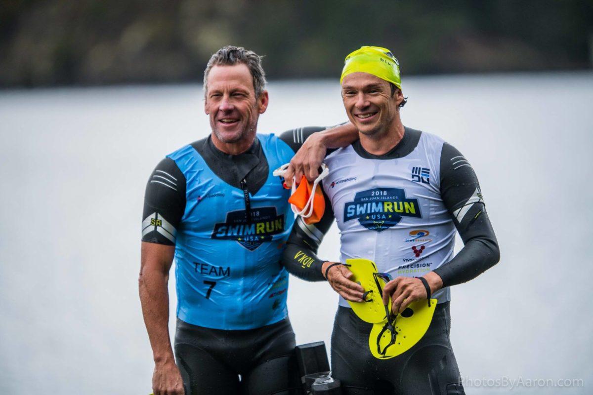 Lance-Armstrong-Simon-Whitefield-Swimrun